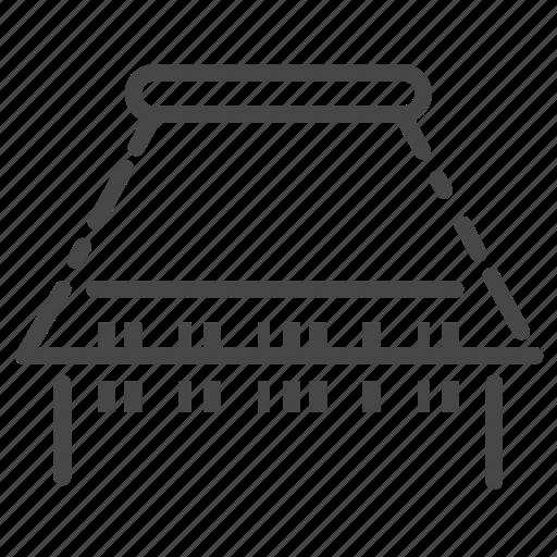barcode, machine, scan, scanning, ticket icon