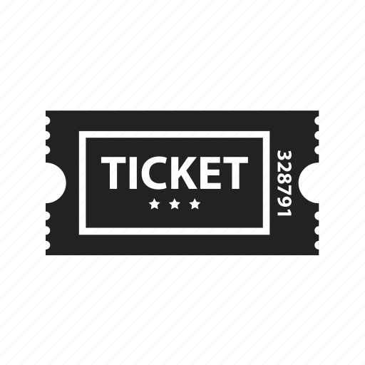 cinema, circus, coupon, entertainment, film, movie, theater, ticket icon