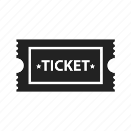 cinema, entertainment, film, movie, star, theater, ticket icon