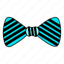 bow-tie, chef tie, design, knot, tie, ties, v1, vector icon