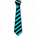 design, formal tie, knot, tie, ties, v1, vector icon