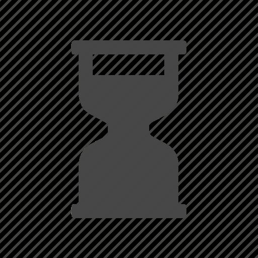 glass, hourglass, sand, time icon