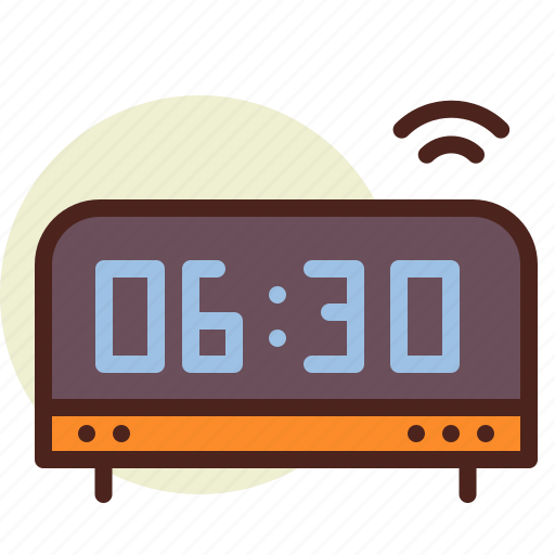 analog, clock, schedule icon