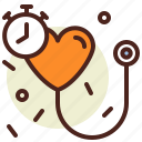 blood, clock, pressure, schedule, timing icon
