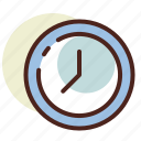 clock, management, schedule icon