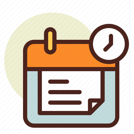 clock, denied, hourglass, schedule icon
