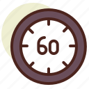 clock, no, schedule, time icon