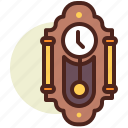 clock, old, schedule icon