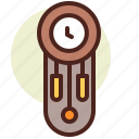 clock, pendulum, schedule icon