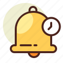 clock, reminder, schedule, time icon