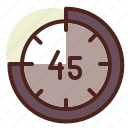 clock, rewind, schedule, time icon