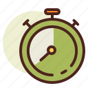 clock, schedule, stopwatch icon