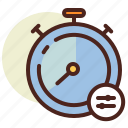 clock, schedule, settings, timer icon