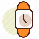clock, schedule, wristwatch2 icon