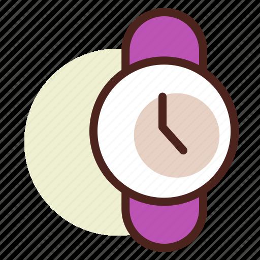 clock, schedule, wristwatch icon