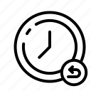 clock, schedule icon