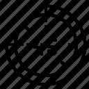 clock, rewind, schedule, time icon