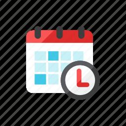 calendar, time icon