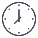 appointment, clock, hour, schedule, time, watch icon