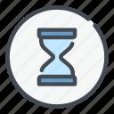 time, clock, watch, hourglass, sandglass