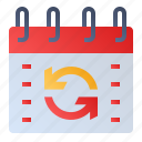 calendar, date, event, schedule, update icon