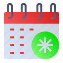 calendar, date, event, schedule, settings icon