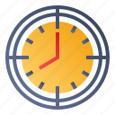 clock, time target, time-management, timing icon