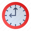alarm, timer, wall clock, watch icon