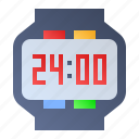 clock, digital, smartwatch, wristwatch icon