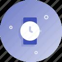 clock, watch, wristwatch icon
