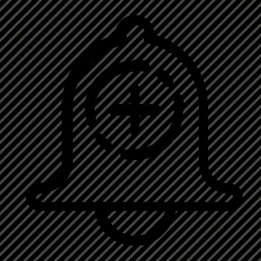 add, alarm, alert icon