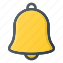 allert, bell, set, sound, time icon