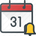 alarm, calendar, clock, event, reminder, time icon