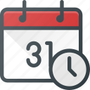calendar, clock, event, reminde, time icon