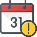 alert, calendar, event, remide, time icon