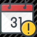 alert, calendar, event, remide, time