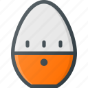 egg, kitchen, time, timer, wait icon