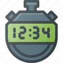 counter, cronometer, stopwatch, time, timer icon
