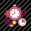 clock, deadline, hour, management, stopwatch, time, timer