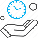 clock, hand, management, time