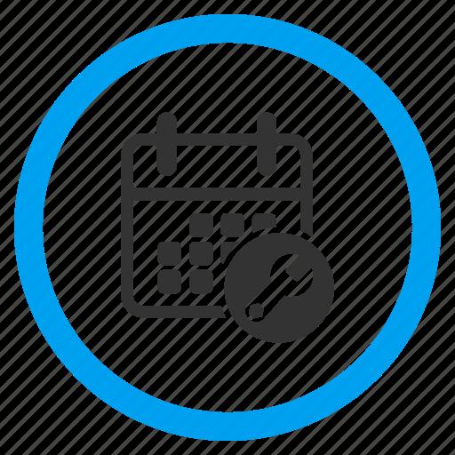 appointment, configuration, configure calendar, grid, schedule, setup date, time table icon