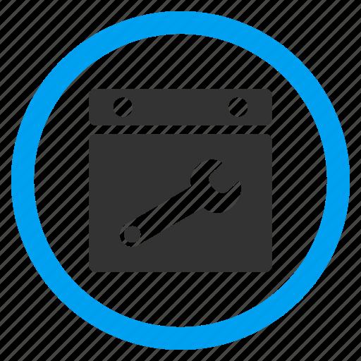 appointment, configuration, configure calendar, date options, plan, schedule, settings icon