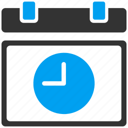 appointment, calendar, clock, date and time, event plan, schedule, timer icon