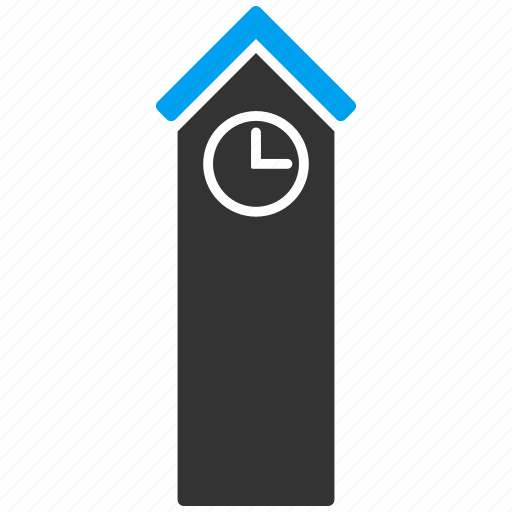 building, castle, clock, museum, office, skyscraper, time tower icon