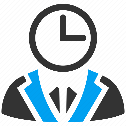 boss, business, duty person, employee, schedule, time manager, user icon