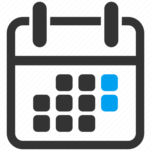appointment, calendar, grid, poster, schedule, time table, weekend icon