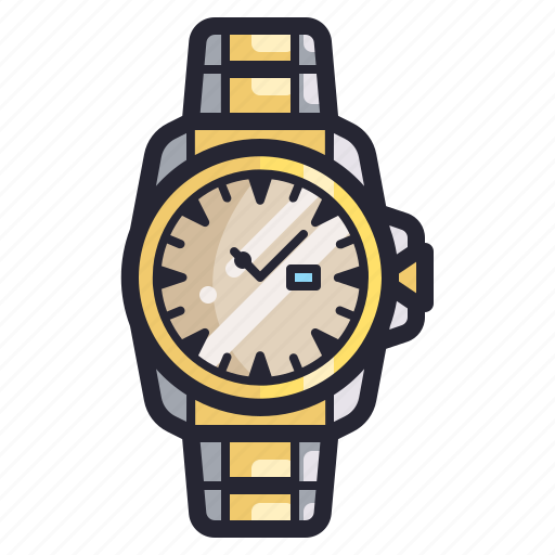 accessories, automatic, business, fashion, style, time, watch icon