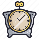 clock, manual, retro, time, vintage, watch icon
