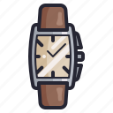 accessories, business, clock, fashion, men, time, watch icon