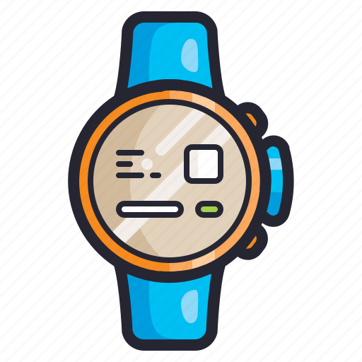 accessories, electronics, fashion, smartwatch, time, watch icon